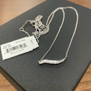 Kendra Scott NWT Jagger Necklace Silver
